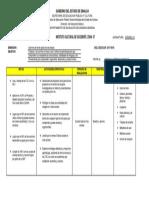 Plan Anual de Trabajo Español3!17!18