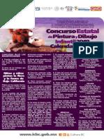 Convocatoria Concurso Estatal de Pintura y Dibujo Infantil 2018, Calendario 2019