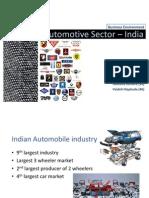 Automotive Industry India