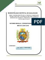 Informe Mensual de Supervision