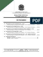 BOLETIM OFICIAL DA UNIVERSIDADE FEDERAL DE PERNAMBUCO