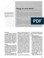 Riesgo de Caries Dental