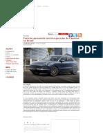 Porsche Apresenta Terceira Geração Do Cayenne No Brasil - MotorDream