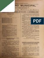 Registro Municipal Cundinamarca, 1919 22 de Febrero