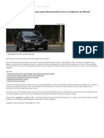 Volkswagen Confirma Planos Para Desenvolver Novo Compacto No Brasil - Economia - BOL Notícias