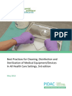 PIDAC Cleaning Disinfection and Sterilization 2013