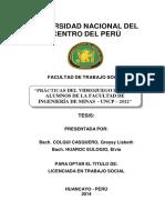 Tesis - Prácticas Del Videojuego Dota en Alumnos de La Facultad de Ingeniería de Minas - Uncp –