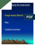 02 Hidráulica, Leyes Básicas de La Hidráulica