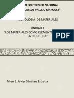 Tecnologia de Los Materiales 1