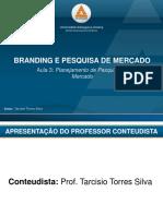 Branding e pesquisa de marcado