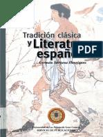 Tradición clásica y Literatura española