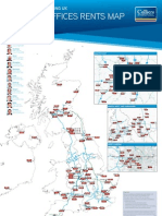 Colliers UK Office Rents Map