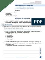 Resumo 322065 Elvis Correa Miranda 33164280 Arquivologia 2017 Aula 10 Conservacao Dos Documentos II