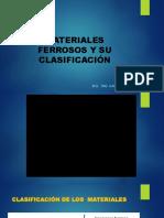 Materiales Ferrosos y Su Clasificación
