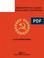 Republica Democratica Alema - Alexandre Babo