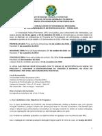 Edital Mestrado PPGA 2019