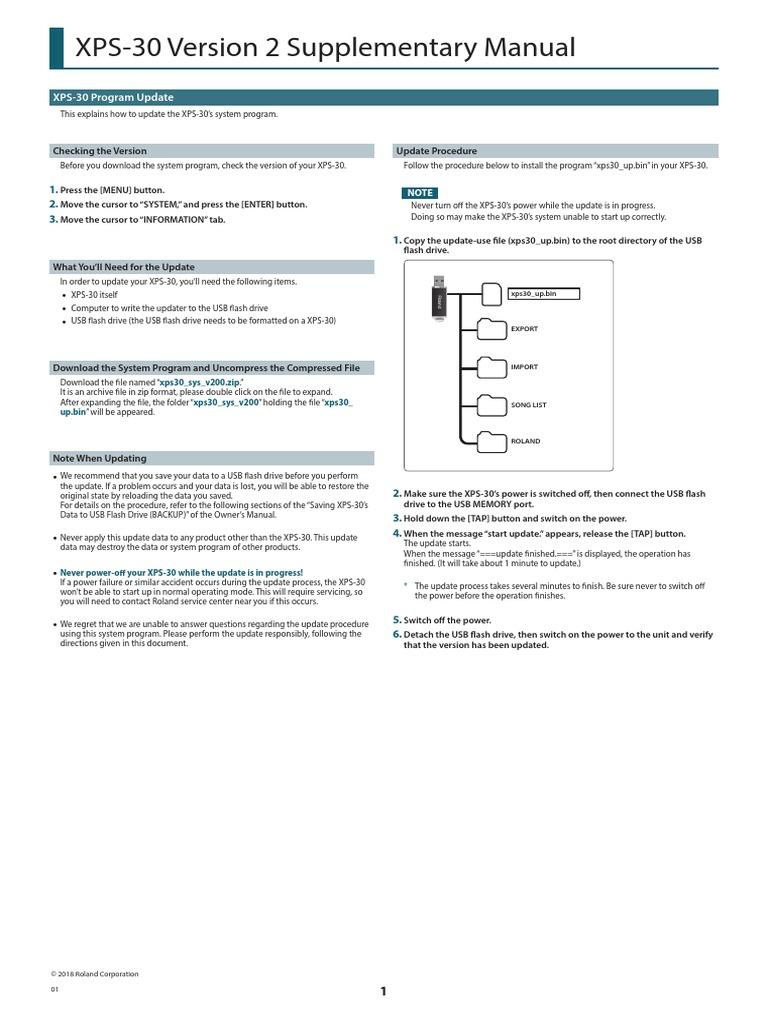 XPS-30_v200_eng01_W pdf | Synthesizer | Zip (File Format)