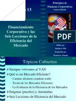Sesion 8 - Eficiencia de Mercados