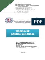 Modelo de Gestion Cultural
