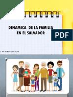 Dinamica de La Familia en El Salvador.
