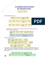 Reacciones Analíticas  de  lo Cationes  del Segundo Grupo.docx