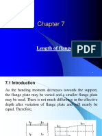 Chapter 7- Lenth of Flange