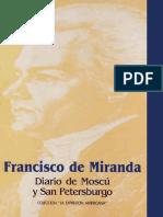 Francisco de Miranda - Diario de Moscu