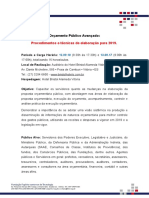 Folder Curso Orçamento Público 2019