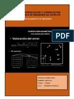 Georreferenciación y Correccción Geométrica de Imágenes de Satélite