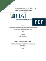 Analisis Sosiologi Sastra Pada Puisi Arab Naqā'Iḍ Dalam Puisi Farazdaq