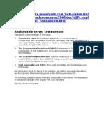 IBM X 3650 M3 Replaceable Server Components