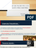 AGITACION PSICOMOTRIZ