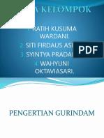 GURINDAM (Ratih,Siti Firdaus, Syintya p, Wahyuni)