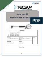 Informe 09 Mediciones Especiales