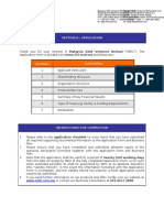 MDV Biotech Application Form