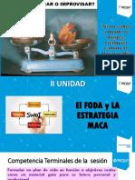 2 FODA y Estrategía MACA (Diapositivas 2)