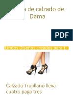 Venta de Calzado de Dama