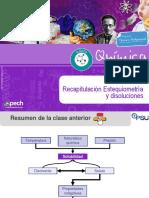 16-Clase 16 TC33 Recapitulación Estequiometría y Disoluciones