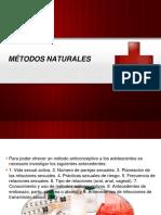 MÉTODOS NATURALES