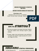 Jenis-jenis Strategi Perniagaan