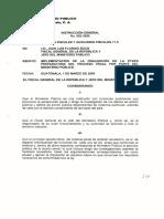 instrucción 2-2005 Ministerio Publico Guatemala