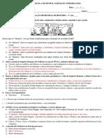 Atividade de História Os Francos e o Feudalismo