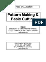 Revised Syllabus Pattern Cutting
