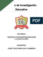 PANEL. TEORIAS EDUCATIVAS. Cecilia Fabiola Arce Rodriguez