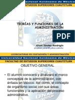 Teorías y Funciones de La Administración (Proceso Administrativo)