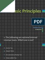 Basic Principles MC