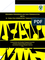 Pedoman Mutu di FKTP, edit Taufiq 02517.doc