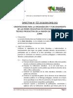 02 -2016-Drej-dgi- Implementación Redes Educativas 2016