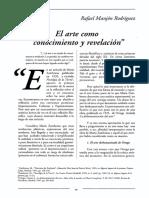 PINTURA El Arte Como Espejo y Revelacion en María Zambrano