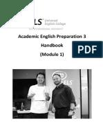 aep3 module 1 handbook
